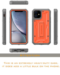 Vanguard Series Apple iPhone 11 (6.1 inches) Case - Orange - AmardilloTek