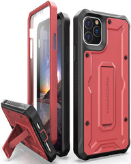 Vanguard Series Apple iPhone 11 Pro MAX (6.5 inches) Case - Red - AmardilloTek