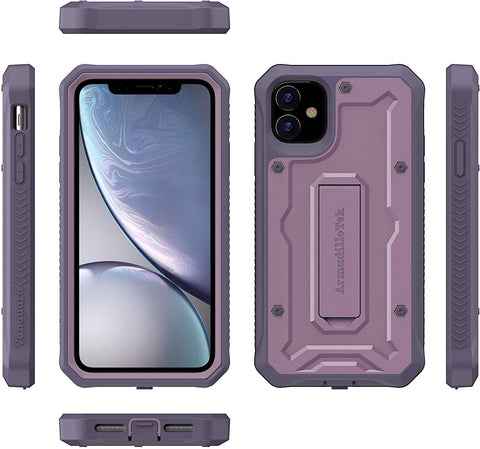 Vanguard Series Apple iPhone 11 (6.1 inches) Case - Purple - AmardilloTek