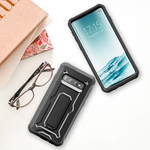 Load image into Gallery viewer, Vanguard Series Galaxy S10 Case - Black - AmardilloTek