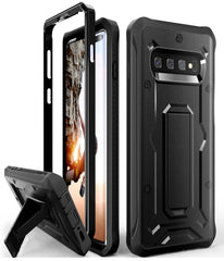 Vanguard Series Galaxy S10+ Plus Case -Black - AmardilloTek