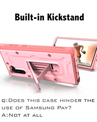 Vanguard Series Samsung Galaxy Note10 Case - Pink - AmardilloTek