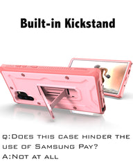 Vanguard Designed for Samsung Galaxy Note 10+Plus /5G Case -- Pink - AmardilloTek