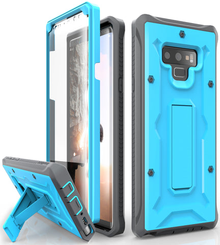 Vanguard Series Galaxy Note 9 Case - Blue - AmardilloTek