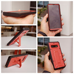 Vanguard Series Galaxy S10+ Plus Case - Red - AmardilloTek