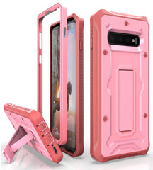 Vanguard Series Galaxy S10+ Plus Case - Pink - AmardilloTek