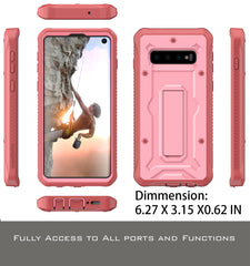 Vanguard Series Galaxy S10 Case - Pink - AmardilloTek