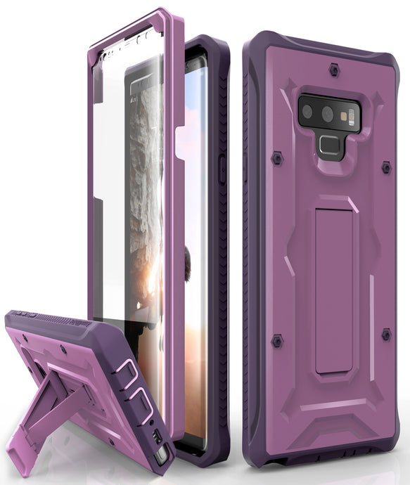 Vanguard Series Galaxy Note 9 Case - Purple - AmardilloTek