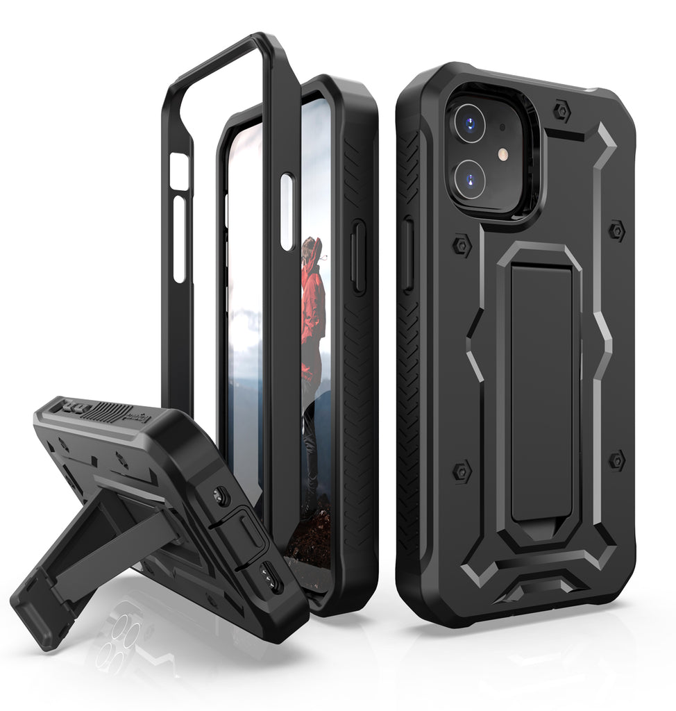 iPhone 12 Mini Rugged Case - Military Grade - 21 Feet Drop Proof