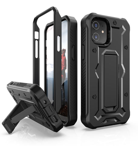 Vanguard Series Apple iPhone 12 Mini (5.4 inches) Case - Black