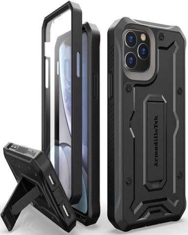 Vanguard Series Apple iPhone 11 Pro (5.8 inches) Case -Black - AmardilloTek