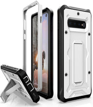 Load image into Gallery viewer, Vanguard Series Galaxy S10 Case - White - AmardilloTek