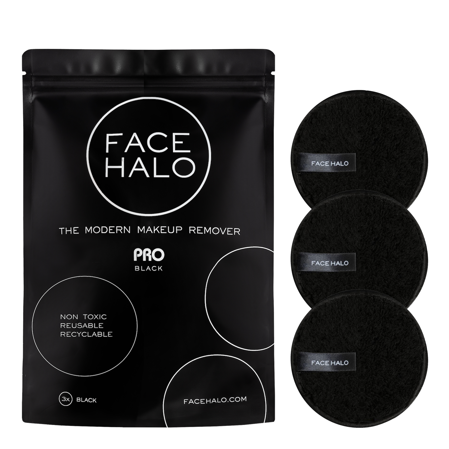 Face Halo Pro – Pack of 3 - Blush Rose