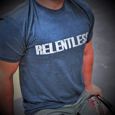 Relentless T-Shirt Mens T-Shirt - 321Apparel - crossfit
