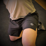 321 Go Lite WOD Shorts Black Mens Shorts - 321Apparel - crossfit