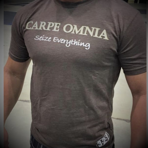 Carpe Omnia T-Shirt Mens T-Shirt - 321Apparel - crossfit