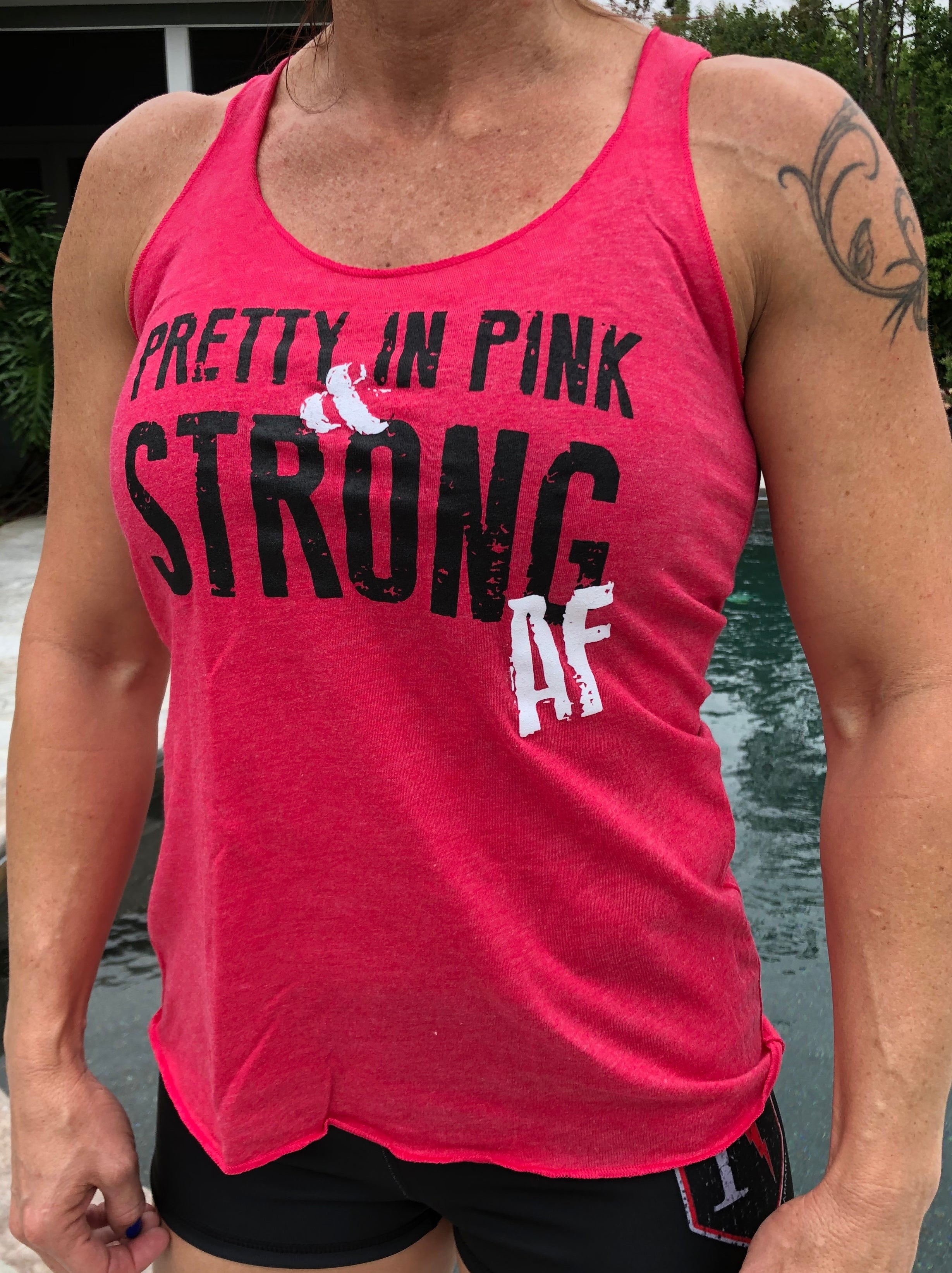 Pretty in Pink Racerback