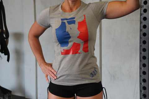 OLY T-Shirt Womens T-Shirt - 321Apparel - crossfit
