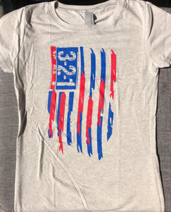 Girls Modern Flag T-Shirt