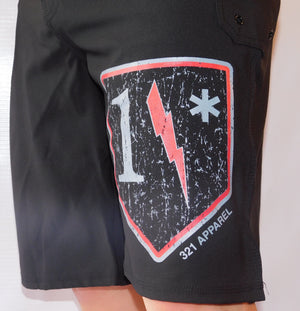 1* Red WOD Shorts
