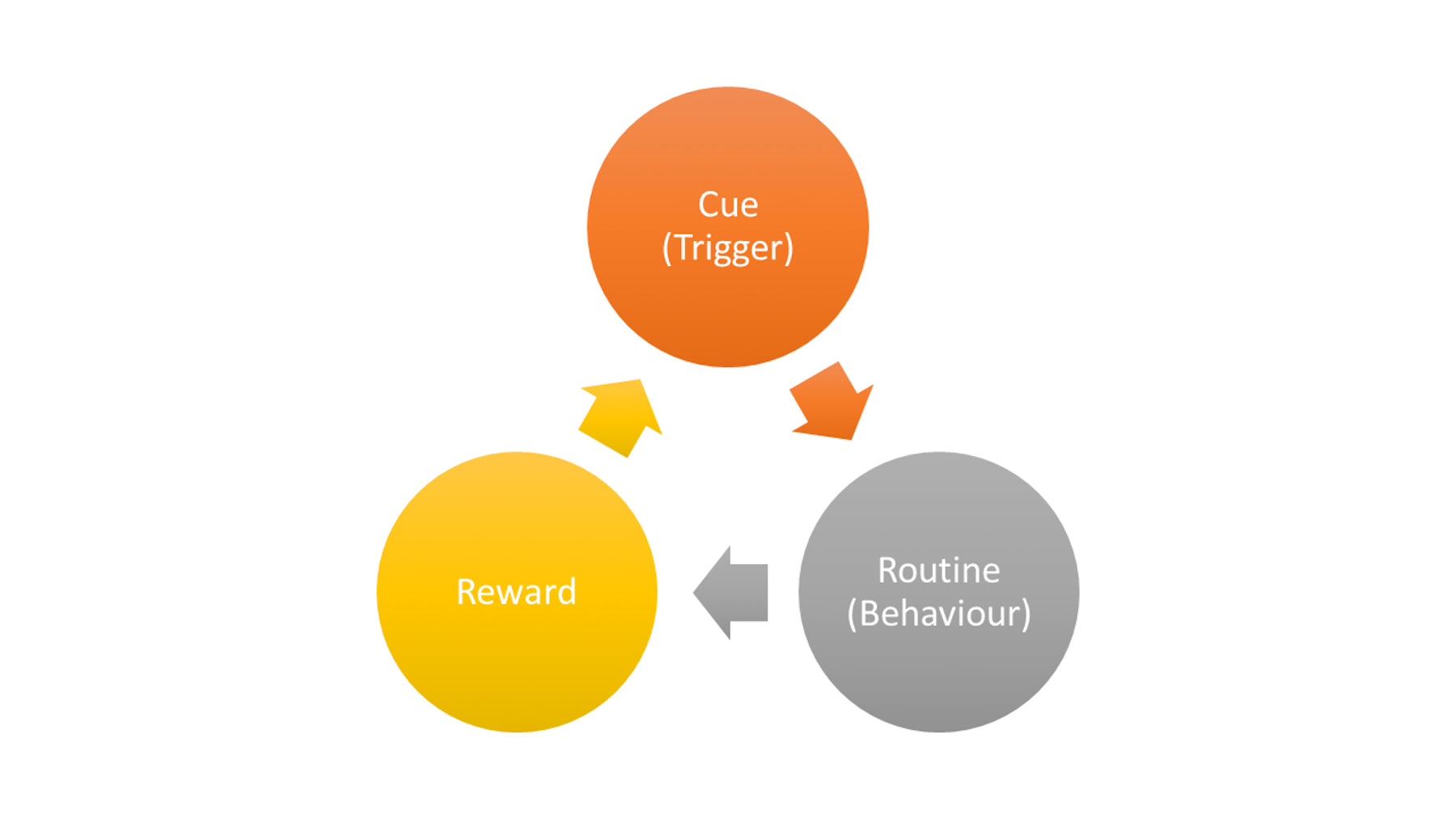 habit loop diagram