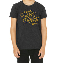 Load image into Gallery viewer, New Haven Script Kids T-Shirt