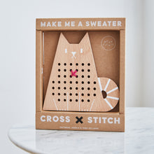 Load image into Gallery viewer, Cross Stitch Cat