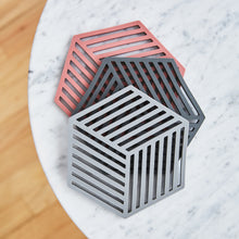 Load image into Gallery viewer, Silicone Geometric Trivet