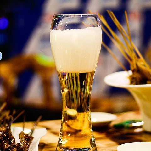 Euro Style Tall Man Wheat Beer Glass | WhiskyWhiskey.Co