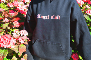 Angel Cult Old English Hoodie