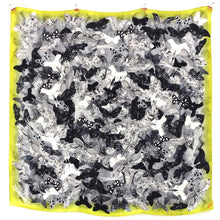 Load image into Gallery viewer, Archaeolepis Moth Print Silk Satin Busy Lizzie Scarf