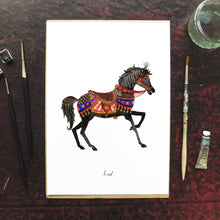 Load image into Gallery viewer, Le Carrousel Ariel the Carousel Horse Art Print