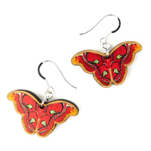 Load image into Gallery viewer, Atlas Moth Earrings
