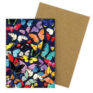 Lepidoptera Butterfly Greetings Card