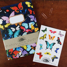 Load image into Gallery viewer, Lepidoptera Butterfly Print Eco Paper Sticker Sheet