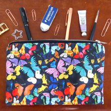 Load image into Gallery viewer, Lepidoptera Butterfly Print Pouch Bag