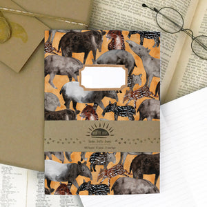 Candle of Tapirs Print Journal and Notebook Set