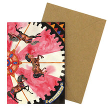 Load image into Gallery viewer, Le Carrousel du Soleil Greetings Card