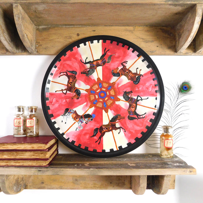 Le Carrousel du Soleil Birch Wood Tray