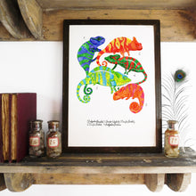 Load image into Gallery viewer, Camouflage of Chameleons Art Print