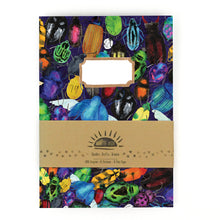 Load image into Gallery viewer, Coleoptera Beetle Print Notebook