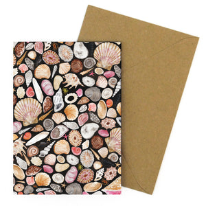 Mollusca Sea Shell Greetings Card