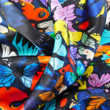 Load image into Gallery viewer, Lepidoptera Butterfly Print Silk Scarf