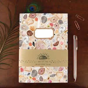 Conchae Sea Shell Print Notebook