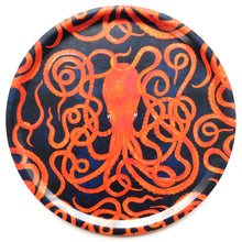 Load image into Gallery viewer, Octopoda Octopus Round Tray