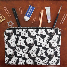 Load image into Gallery viewer, Embarrassment of Pandas Print Pouch Bag