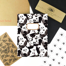 Load image into Gallery viewer, Embarrassment of Pandas Print Notebook
