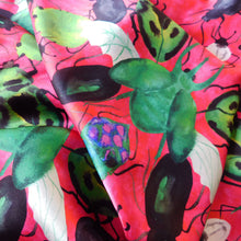 Load image into Gallery viewer, Phyllophaga Beetle Print Silk Scarf
