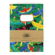 Load image into Gallery viewer, Psittacidae Parrot Print Notebook