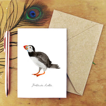 Load image into Gallery viewer, Improbability Common Puffin Greetings Card